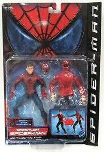 New Sealed ToyBiz Spider-Man Official Movie Merchandise Wrestler Spider-Man 2002