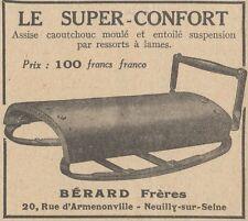 Y5909 Le Super-Confort pour motos - Pubblicità d'epoca - 1929 Old advertising