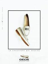 Publicité Advertising 117  2009   les chaussures femme Geox