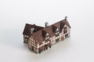 House Model ~ SHAKESPEARE'S BIRTHPLACE Stratford-Upon-Avon