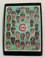 1971 Chicago Cubs Team # 502 Topps Baseball Card