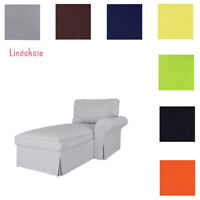 Custom Made Cover Fits IKEA Ektorp Chaise Lounge Right Cover