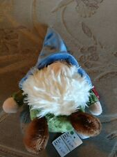 7 Inch Mekkabunk Gnome with Blue Hat Plush Stuffed Animal by Aurora