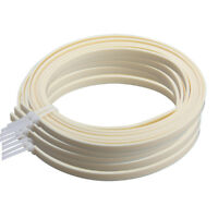Guitar Binding Purfling Strip Ivory ABS 1650 x 5 x1.5mm Pack of 5