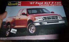 REVELL 1997 FORD F-150 PICKUP FLARESIDE XLT SUPER-CAB 1/25 Model Car Mountain FS
