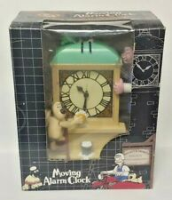 Wallace And Gromit Talking Moving Music Alarm Clock NIB Vintage 1989 Brand New