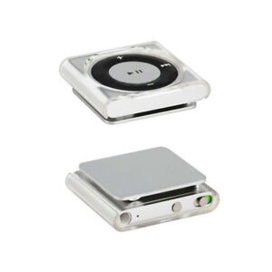 2pcs Clear Transparent Hard Protective shell Case Cover for iPod Shuffle 4 6 7