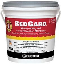 Waterproofing and Crack Prevention Membrane RedGard 1 Gal. Flooring Material