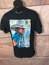 Jason Aldean Tour shirt 2011 My Kinda Party Mens Black Short Sleeves L