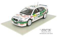 Skoda Octavia WRC  Rallye Monte Carlo 2001  Schwarz Hiemer  1:18 FOX  IXO Base