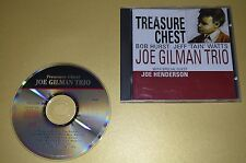 Joe Gilman trio-treasure Chest/timeless records 1992/rar