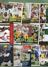 Aaron Rodgers (Green Bay Packers) 15 Card Lot w/2 Rookies!