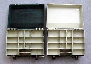 2 Vintage Fishing Tackle Boxes REBEL FUTURA XL