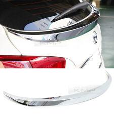 for HYUNDAI 2010-2013 Tucson ix Chrome Trunk Lid Spoiler Trim C150