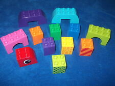 LEGO DUPLO 1x bauplatte 8x16 scanalata GIALLO 6490
