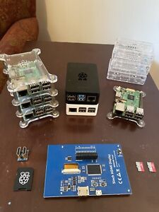 Raspberry Pi - LOT of 6 with extras
