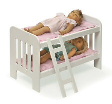 BUNK BED, BEDDING & LADDER FOR AMERICAN GIRL DOLL- ADORABLE- Pink Gingham