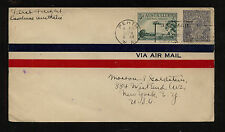 Australia 72 and C 1 on flight cover to Us 1929 Ms0613