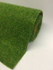 "Grass Mat Hairy Spring Green Mix 120cmx60cm 48""x24"" Javis Landscape scenery roll"