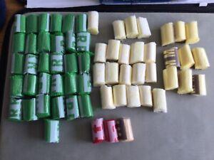 62 rolls of latch hook wool