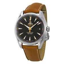 Omega Aqua Terra Master Automatic Black Dial Mens Watch 23112422101002