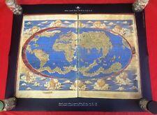 Italian Planisphere Map Poster Vatican Library Biblioteca Apostolica Vaticana