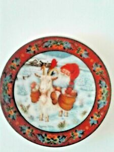 hand painted pot and plate Magnet Southwestern ceramic magnet refrigerator magnet