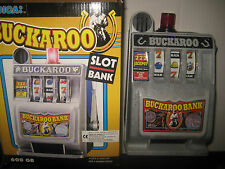 Slot Machine Bank Buckaroo Radica Casino Jackpot New Old Shop Stock Boxed