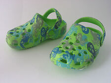 BOYS CLOG STYLE SHOES OCTOPUS DESIGN SIZE INFANTS 5 ONLY £2.99
