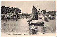CPA 22 - PORT BLANC (Côtes d'Armor) - 10. Dans les îles. ND - TBE
