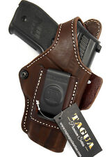 TAGUA BROWN LEATHER 4 in 1 OWB IWB SOB THUMB BREAK HOLSTER - SIG SAUER P228 P229