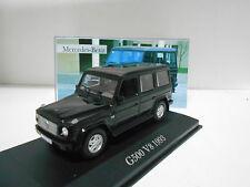 MERCEDES-BENZ CLASE G G500 V8 W463 1993 COLLECTION MERCEDES ALTAYA IXO 1:43