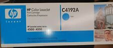 HP LaserJet C4192A Cyan Toner Cartridge | 4500 4550