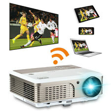 Android Wifi 4000lms LED Projector HD Smart Home Cinema Online TV Movie HDMI USB