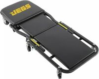 JEGS 81165 2-in-1 Folding Creeper & Z-Seat