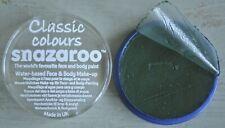 Best Dark Green Snazaroo Face Paint Halloween Witch Make Up 18ml Water Based