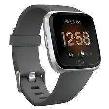 Fitbit Versa Lite Special Edition Fitness Tracker Activity Grey Band Smartwatch