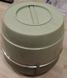 Vintage Sears Portable Table Top Hair Dryer Green