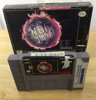 NBA Jam Tournament Edition Super Nintendo Entertainment System 1995 With Box