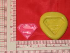 Superman Emblem Mold Silicone Push Mold  Cake Pop Chocolate Resin Clay A772