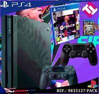 PS4 PLAYSTATION 4 PRO 1TB EDICION THE LAST OF US 2 FIFA 2021 GTAV SEGUNDO MANDO