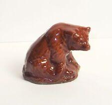 WADE PORCELAIN FIGURINES---WHOPPAS- BROWN BEAR----SET 1--1976