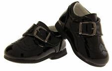 Boys' Faux Leather Buckle Baby Shoes