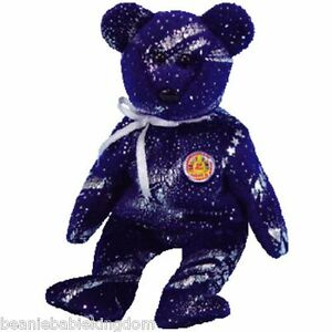 Ty Beanie Baby Babie * ASTRA * November 04 BBOM Beanie Baby of the Month 48406