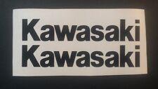 Kawasaki Tank sticker pair 193mm X 35mm