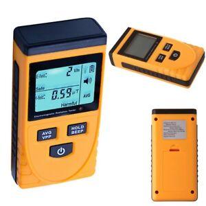 LCD Digital Electromagnetic Radiation Detector EMF Meter Tester Dosimeter GM3120