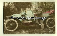 su1823 - Vintage Car parked in the Woods, Birthday Wishes & Verse -  postcard