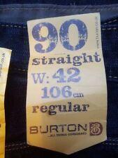 Burton Big & Tall 32L Classic Fit, Straight Jeans for Men
