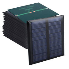 20pcs Solar Panels 5.5v 90mA 0.6W 6.5x6.5 for Mini Solar Cell Power Appliances
