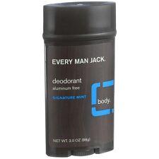Every Man Jack Deodorant, Signature Mint 3 oz